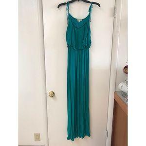 Buckle Maxi Dress